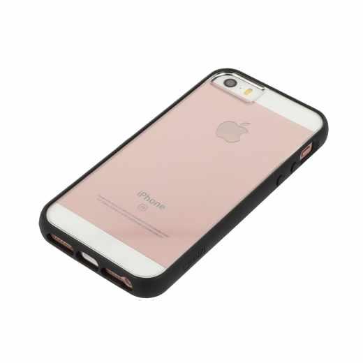 gear4 IceBox Edge Schutzhülle für iPhone 5 Case Kantenschutz schwarz - neu