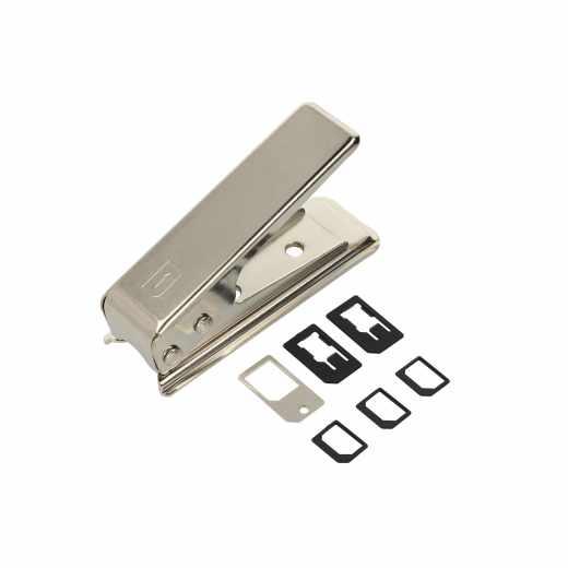 Nano SIM-Karten Stanze silber -neu