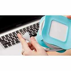 Quirky PowerCurl 85 Watt Kabelhalter für MacBook Pro...
