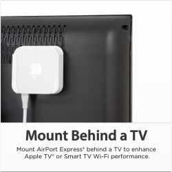 Innovelis TM-AE Wandhalterung Montage Set für Apple Airport Express- neu