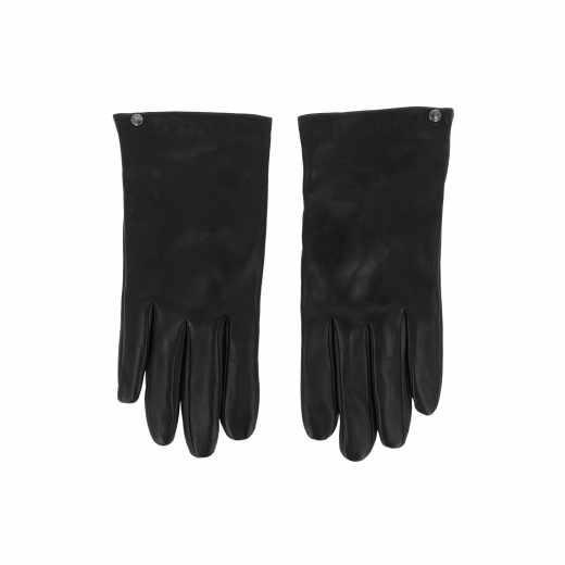 Isotoner SmarTouch Damenhandschuhe für Smartphone Tablet Größe L Leder schwarz