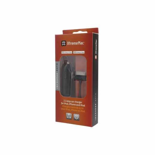 XtremeMac InCharger Auto Ladegerät 2.1A schwarz - neu