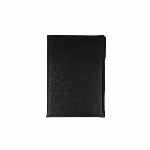 Networx Comfy Sleeve, Leder-Schutzhülle für iPad Air, schwarz