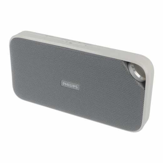 Philips Bt3500w Bluetooth Lautsprecher Musik Streaming Mikrofon Weiss