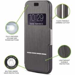 moshi SenseCover Schutzhülle für iPhone 6 Plus schwarz - neu