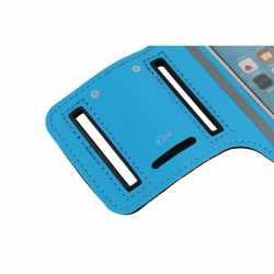 Networx Universal Sportarmband Neopren Handyhalterung Größe S blau - neu