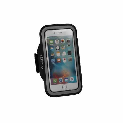 Networx Universal Sportarmband Neopren Größe M Handyhalterung schwarz - neu
