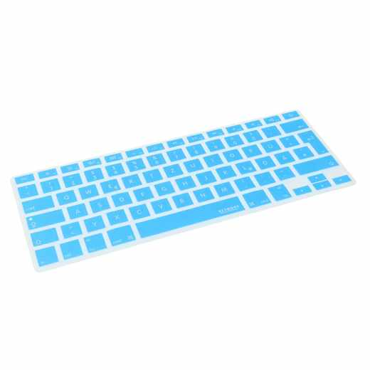 Networx Keyboard Cover Schutzhülle für MacBook Wireless Keyboard Tastatur blau