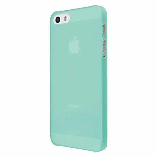 Artwizz Rubber Clip Schutzhülle Apple iPhone 5/5s Handyhülle Backcover Case mint - neu