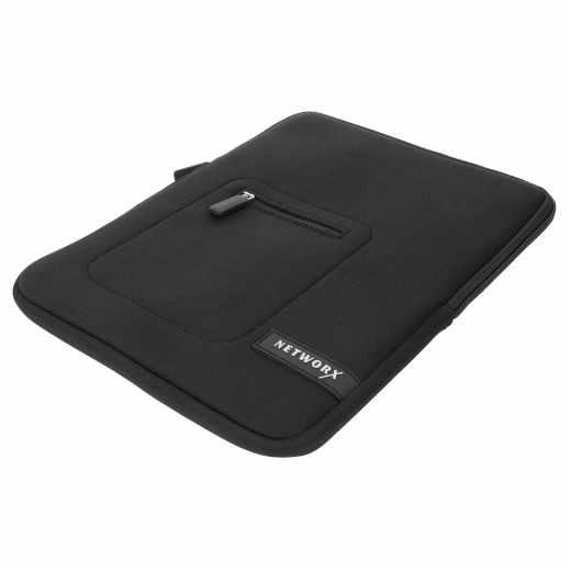 Networx Sleeve Neopren Schutzhülle für MacBook 12 Zoll Tasche schwarz - neu