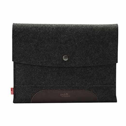 Pack&Smooch Merino Schutzhülle für iPad Air/2 Tasche anthrazit - neu