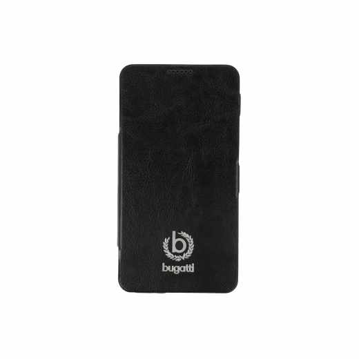 bugatti BCG-SA-Galaxy Note 3 black BookCase Geneva Galaxy Note 3 Leder Handy Tasche schwarz