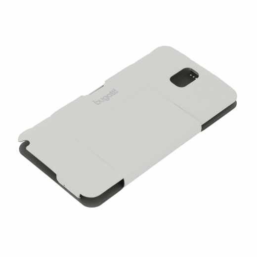 bugatti BCG-SA-Galaxy Note 3 white BookCase Geneva Galaxy Note 3 Leder Handy Tasche weiß