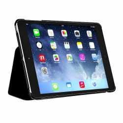 bugatti Smart Folder Vienna für iPad mini 1/2/3 Leder Schutzhülle 7,9 Zoll schwarz