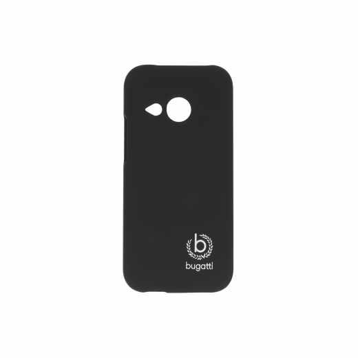 bugatti Clip-On Cover Hartschale für HTC-One mini 2 schwarz - neu