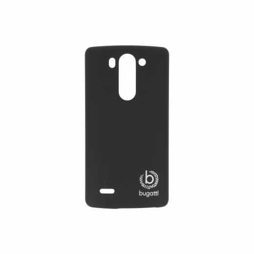 bugatti Clip-On Cover Hartschale für LG G3 s schwarz - neu