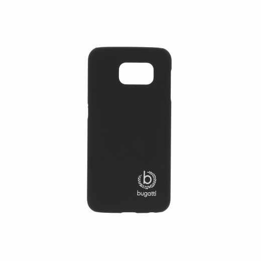 bugatti Clip-On Cover Handyhülle für Samsung Galaxy S6 schwarz - neu