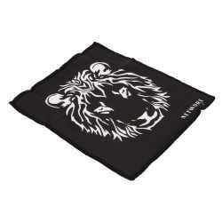 Networx WIPE Microfasertuch Löwe Reiningungstuch schwarz weiß - neu