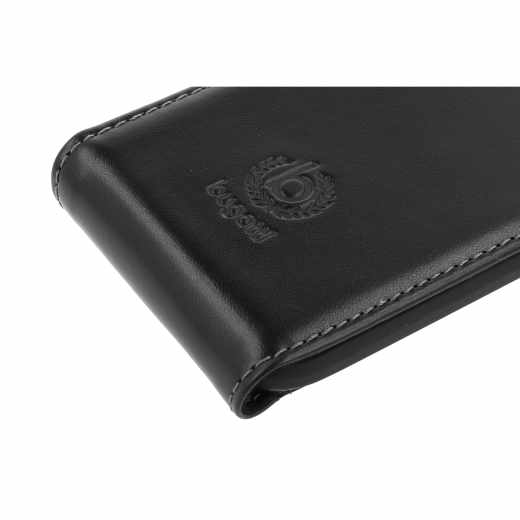 bugatti FLCO-HTC-One mini 2 black FlipCover Oslo HTC One mini 2 Leder Handy Tasche schwarz