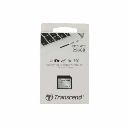 Transcend JetDrive Lite 350 Speichererweiterung 256GB für Apple MacBook Pro - neu