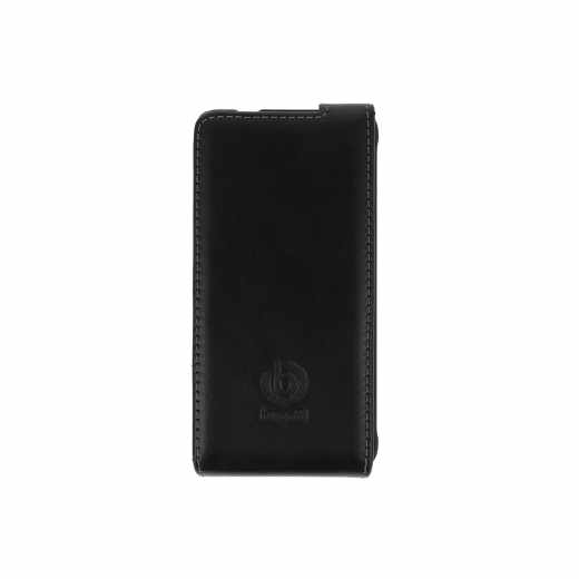 bugatti Flip Cover Oslo Handyklapphülle für Samsung Galaxy Alpha schwarz - neu