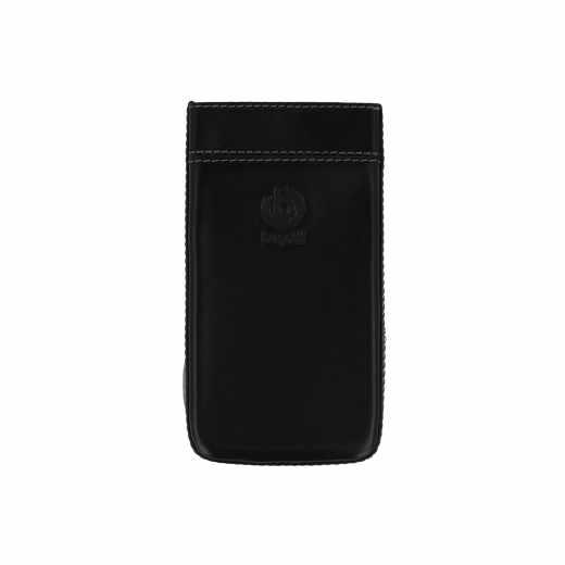 Bugatti Pure Premium für LG-G3 s Leder Handy Tasche Handyhülle Case schwarz