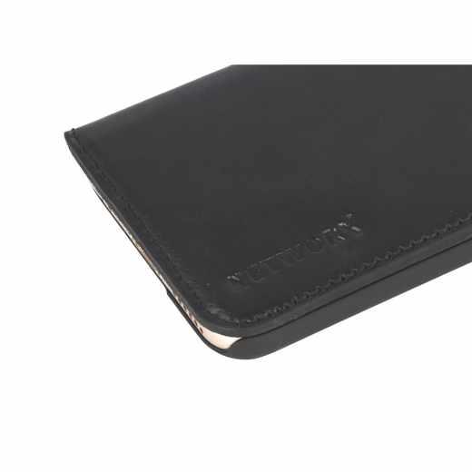 Networx Leder BookCase Tasche Schutzhülle Schale für iPhone 6/6s schwarz