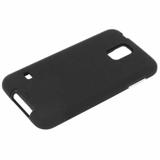 Case-Mate Tough Case Schutzhülle Samsung S5/Neo Handyhülle Outdoor schwarz