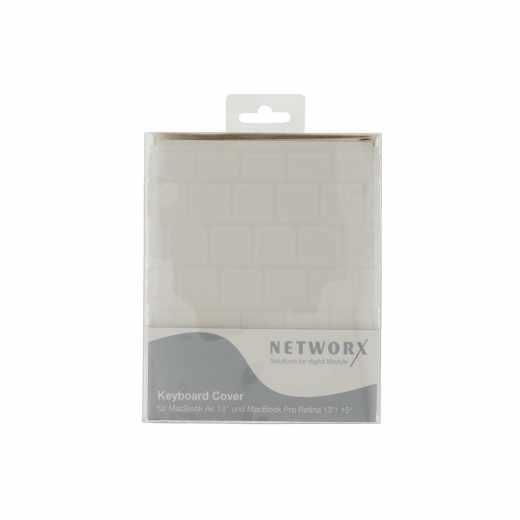 Networx Keyboard Cover Tataturschutz für Apple MacBook 12 Zoll TPU transparent - neu
