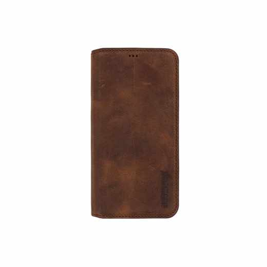 Networx Samsung Leder Bookcase Schutzhülle für Galaxy S6 EDGE antikbraun - neu