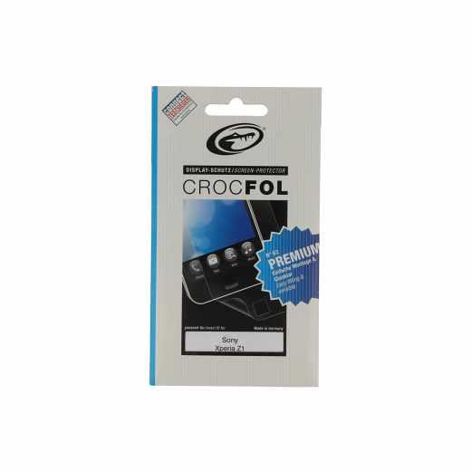 Crocfol Display-Schutz Schutzfolie (2Stk.) Premium Sony Xperia Z1