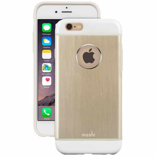 Moshi iGlaze Amour Apple iPhone für 6/6s Schutzhülle Case Cover Spacesuit gold - neu