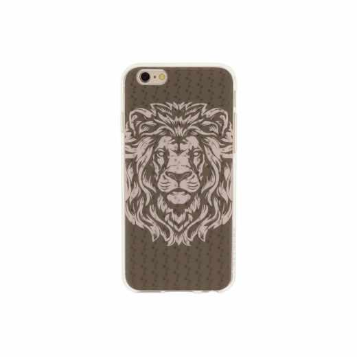 Networx 3D TPU Case Schutzhülle iPhone 6/6s Löwenmotiv Handyhülle Schale braun - neu