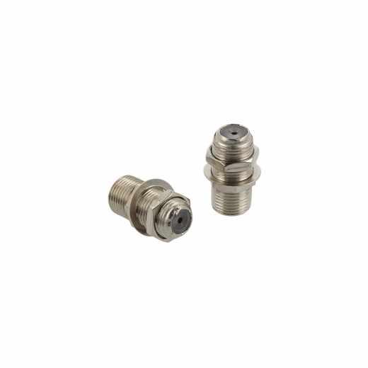G&BL F-Verbindungsstecker F-Adapter schraubbar J/J 2er Pack