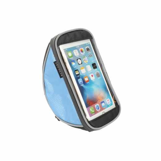 Networx Universelle Fahrradlenkertasche Tasche - Halterung für Smartphones blau