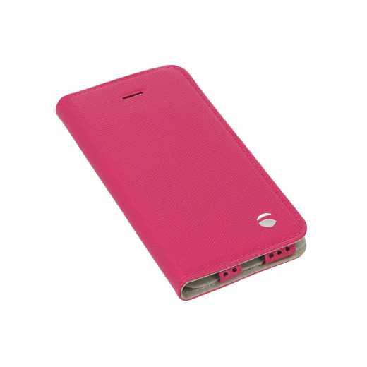 Krusell Malmö BookCover Folio Schutzhülle für Apple iPhone 5/5S/SE pink