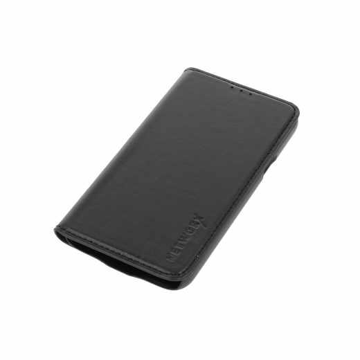 Networx Leder BookCase Schutzhülle für Samsung G S5 mini schwarz - neu