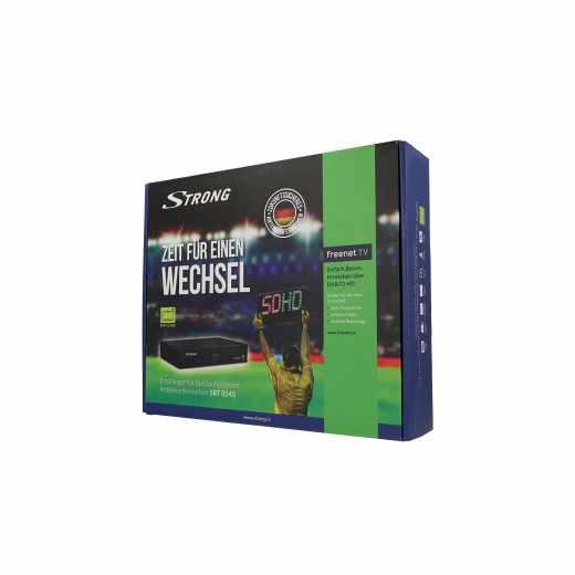 Strong Receiver DVB-T 2 SRT 8540 Antenne HDTV SAT TV HDMI freenet digital