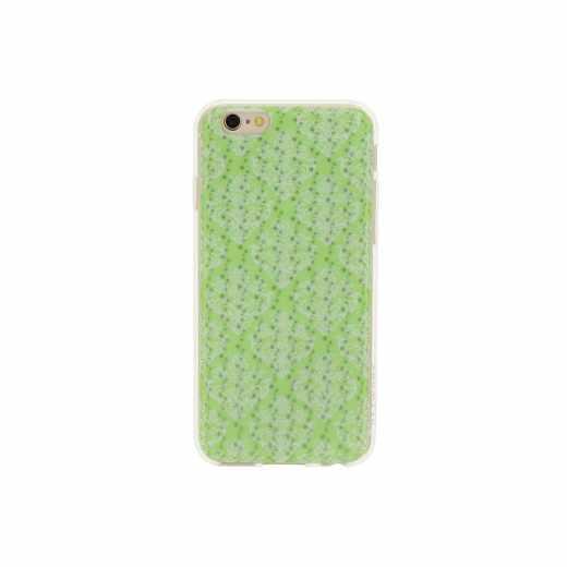 Networx 3D TPU Case, Schutzhülle für iPhone 6/6s, Blumenmotiv, grün