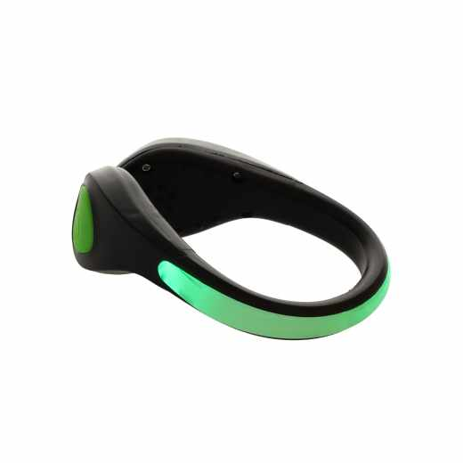 Networx LED Schuhclip Schuhbeleuchtung LED Clip zum Laufen und Reiten grün - neu