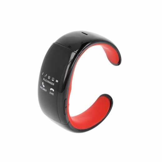 MyKronoz ZeBracelet Smartwatch schwarz/rot gebraucht - sehr gut