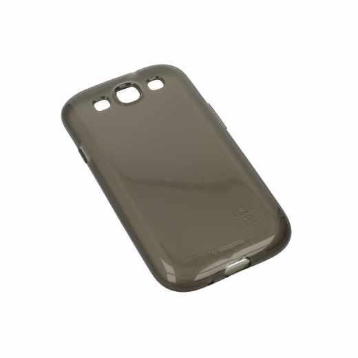 Belkin Grip Sheer Schutzhülle für Samsung Galaxy S3 Case schwarz - neu