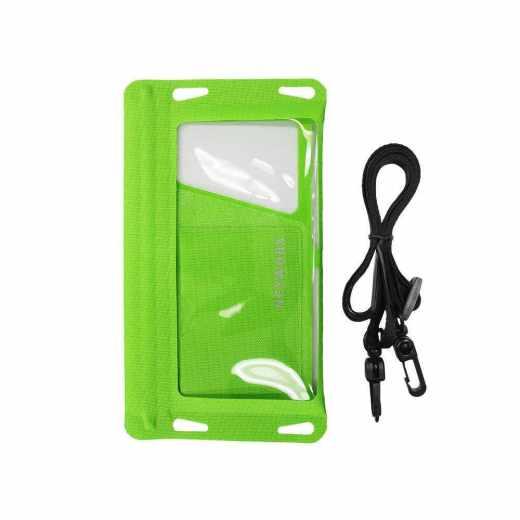 Networx Universal Strandtasche Schutzbeutel für Smartphones bis 5,5 grün