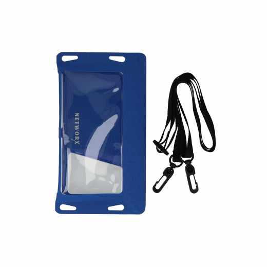 Networx Universal Strandtasche Schutzbeutel für Smartphones bis 5,5 Zoll blau
