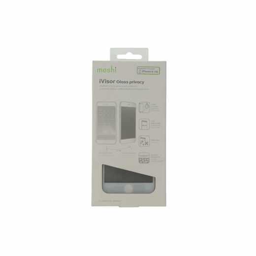 Moshi iVisor Glass Privacy für Apple iPhone 6s Displayschutz Glasdisplay weiß - neu