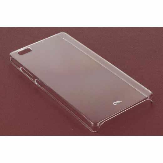 Case-Mate Barely There Schutzhülle für Huawei P8 Lite Handyhülle, transparent