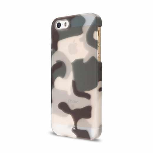 Artwizz Clip Rückseitenschutz für Apple iPhone SE/5/5s Camouflage Cover Handyschale - neu