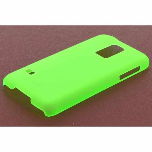 Artwizz Rubber Clip Case Cover Schutzhülle für Samsung Galaxy S5 mini grün