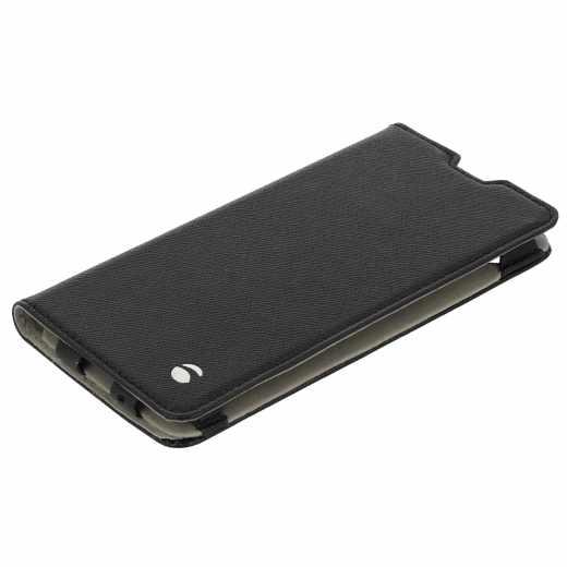 Krusell Malmö Smartphonetasche für Sony Xperia XA Handytasche Handyhülle, schwarz