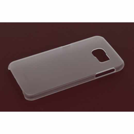 Artwizz Case Schutzhülle Rubber Clip für Samsung Galaxy S6 Backcover, tranparent
